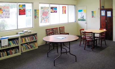 A typical classroom at South Bay.