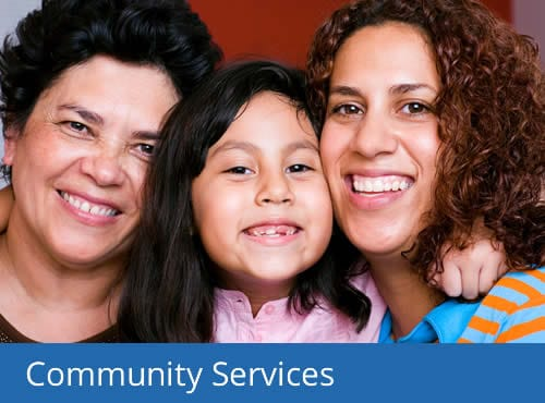 Community Services programs