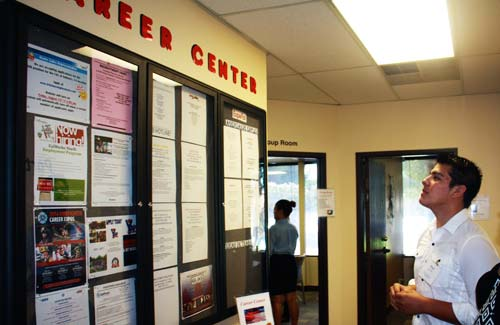 The Resource Centers feature Career Boards.