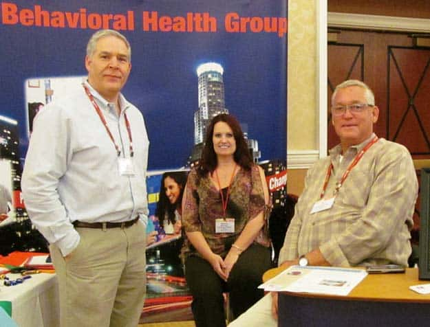 Stars Behavioral Helath Group at trade show.