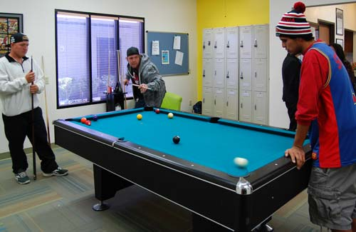 TAY-playing-pool-at-one-stop